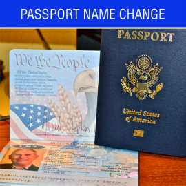 Passport Name Change